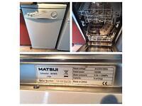 Matsui Slimline Dishwasher
