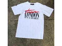 Trapstar it's a secret t shirt size small