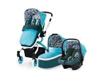 Cosatto Ooba Duck Egg Travel System Brand New In The Box