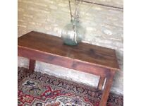 Lovely Old Wooden Dining Table Seats 6