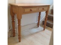 Pine console table, perfect for entrance hall