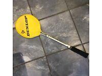 Vintage Dunlop Silver Star Squash Racket