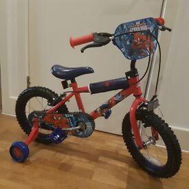 Ultimate spiderman kids bike- 14inch wheel- brand new