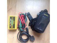 Martindale EZ2500 Earth Loop Impedance Tester