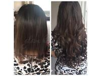 Mobile hair Extentionist beutician spray tan specialist brazilian blow dry expert