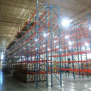 Industrial Shelving - Pallet Racking - Guardrail - Mezzanine - Cantilever - Wire Partition