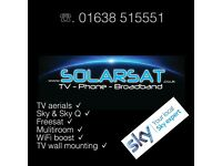 Television Aerial & Satellite Services. 8 High st, Mildenhall