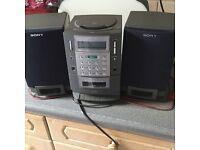 Sony PMC-R30L radio -cd- cassette player