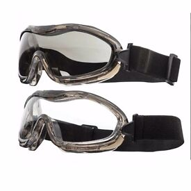 Valken Alpha Tactical Safety Goggles Glasses Airsoft Paintballing Scratch Resist