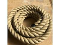 36mm poly help rope x 10 metres