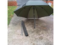 """Brand new keenets 50"""" full tilt green umbrella"""