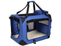 Medium-Large dog carrier 70cm(L)*52cm(W)*52cm (H) Never used