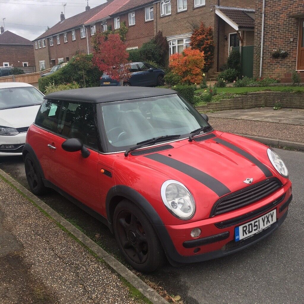 Mini Cooper for sale, dent on bonnet and gearbox has a whining noise ...