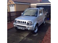 Suzuki jimny 2002 this has been a great car. Cat d write off but you wouldnt know.