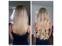 Hair extensions (Russian, Indian, mongolian hair. all methods available)