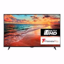 "65 INCH Finlux 65"" 4K UHD Smart LED TV with Freeview Play (65-FUB-8022) 1YEAR WARRANTY"