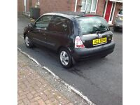 2003 renault clio 1.2 petrol motd ideal 1st car