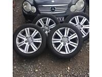 AUDI A4 alloy wheels