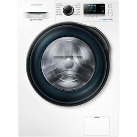 Samsung WW90J5456FW ecobubble™ A+++ 9Kg 1400 RPM Washing Machine White New dent on a transport