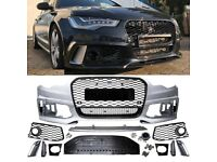 New OEM Front bumper Audi RS6-4G C7 Prefacelift model 2011 - 2014 M