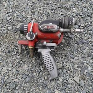 METCO 11E Flame Spray Gun w/ accessories