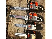 Stihl&Husqvarna-Chainsaws-Kombi units-Hedge trimmers.