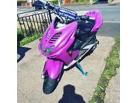Yamaha aerox Rossi 70cc