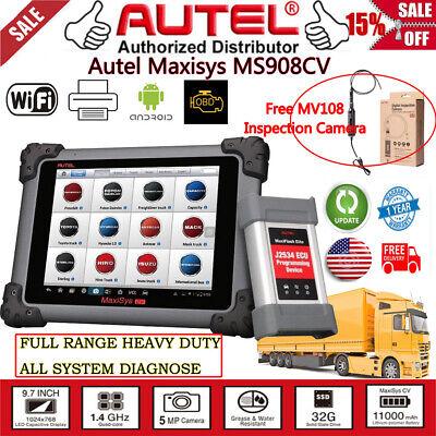 Autel Maxisys Maxisys CV Truck Heavy Duty Diagnostic Tablet Diagnostic Scan