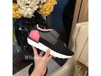 Balenciaga Race Runner trainers black and pink all sizes available
