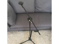 As new Microphone stand (incl clip)