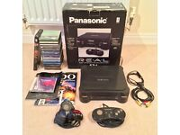 Panasonic 3DO FZ-1 - Boxed & Complete - 2 Controllers - 13 Games + 6 Sample CDs