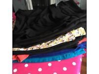 Size 16 jeggings and trousers bundle