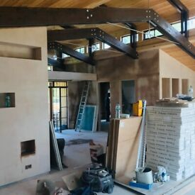 Professional team with many years of experience.We do plastering.Small or big job are welcome