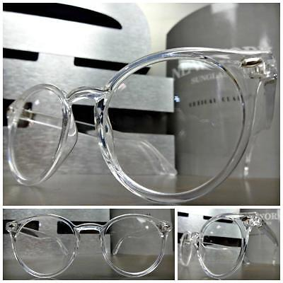 CLASSIC VINTAGE 50s RETRO Style Clear Lens EYE GLASSES Transparent Fashion (Classic Frames)