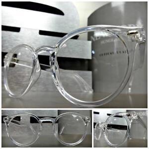CLASSIC VINTAGE 50s RETRO Style Clear Lens EYE GLASSES Transparent Fashion Frame
