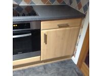 Beech Kitchen Units