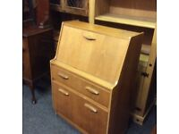 Vintage retro writing bureau