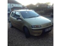 fiat punto sporting with only 73000 miles £375 no offers