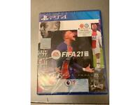 Brand new sealed fifa 21 ps4