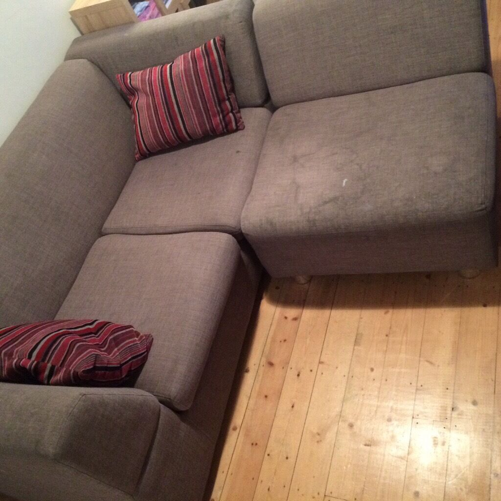 Sofa Bed for collectionin Bexley, LondonGumtree - Sofa Bed for collection 3 seater sofa bed 1 seater snuggler • Can be used as a corner sofa or 2 separate units • Grey • Some stains which can be washed off • Non smoker home • Comes with a sofa bed mattress and 2 cushions • Collection...