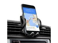 Car Phone Mount, Super Stable Air Vent Mobile Phone Holder Car Cradle 360° Adjustable for iPhone X 8