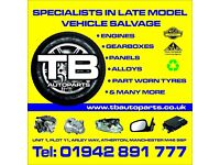 CAR PARTS ALLOYS ENGINES GEARBOXES PANELS - LOCAL CAR BREAKERS ATHERTON TRADE PRICES