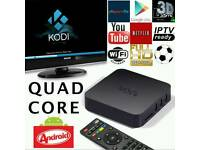 MXQ ANDROID TV BOXS. JUST 2 LEFT HD 3D SMART TV.