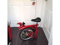Brompton Folding Bicycle Now found a new home!