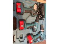Makita 14.4v drill and impact driver