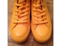 Iconic Yellow Rubber Converse All Star Hightops - UK size 7