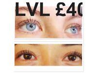 £90 Microblading by an artist!! Eyelash extensions, lvl lash lift, brow lamination, waxing.