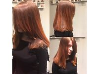 Blow drys for free. Nvq qualified, salon trained in blow drying and styling at top London salon