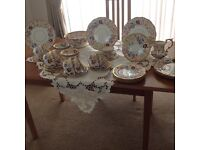 Hammersley vintage dinner set