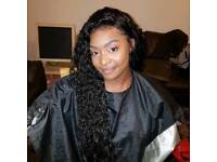 Afro Caribbean hairdresser stylist Customised Lace frontal or Closure, crochet braids and more!